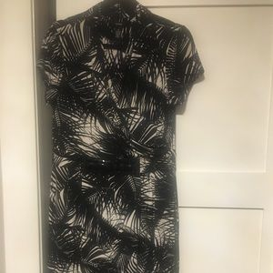 Black and white dress size medium Alfani
